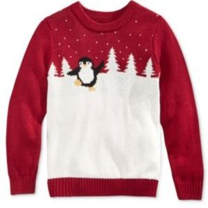 Whimsical Shop Boys' or Girls' Penguin Sweater